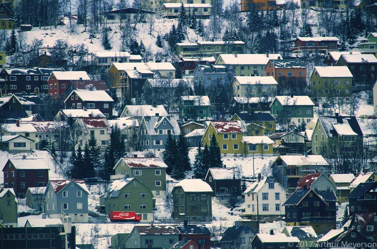 Coke Delivery, Tromsø, Norway