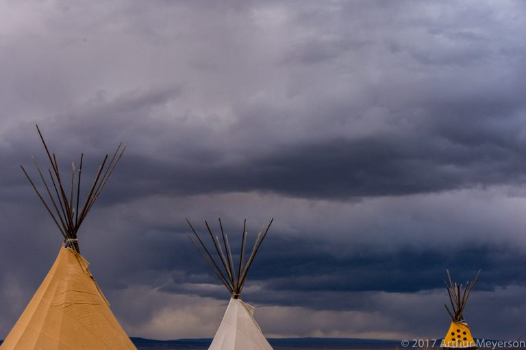 Teepees, New Mexico