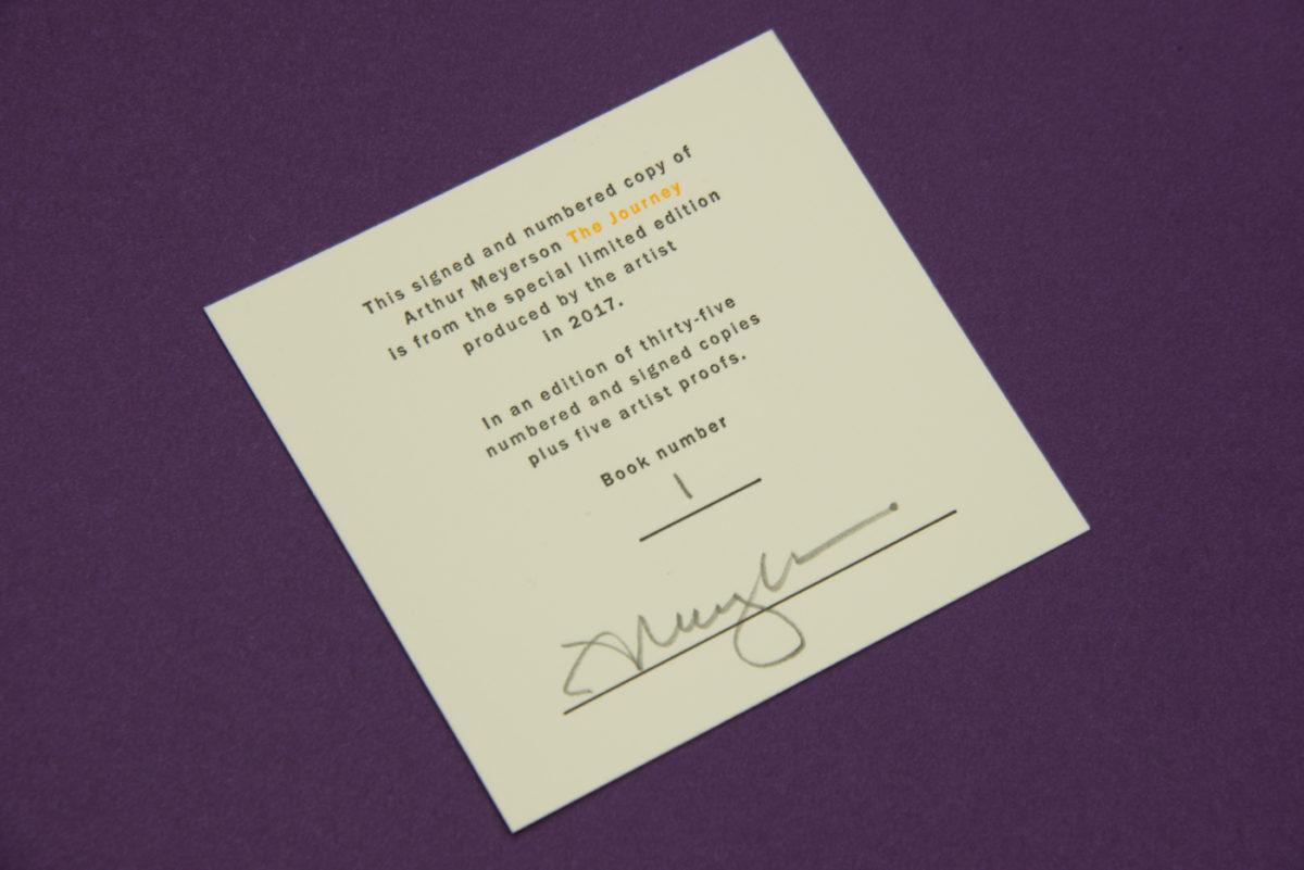 Letterpress Plate-Deluxe Edition