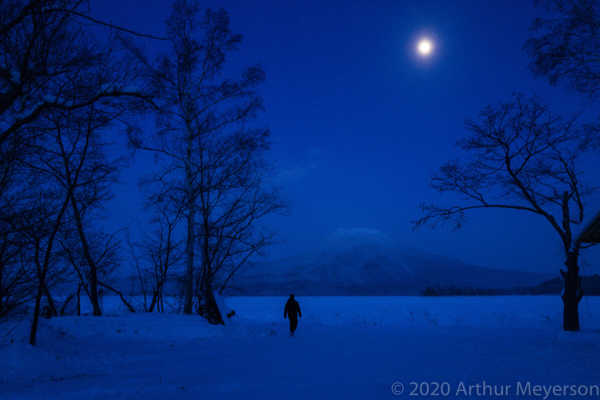 Winterscape at Night